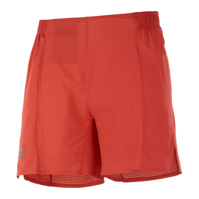 "SALOMON - SENSE AERO OUT 6"" - Shorts - Men's - goji berry"