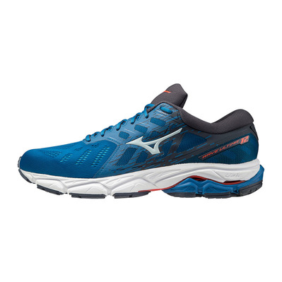 MIZUNO - WAVE ULTIMA 12 - Chaussures running Homme mykonos blue/wan blue/india ink