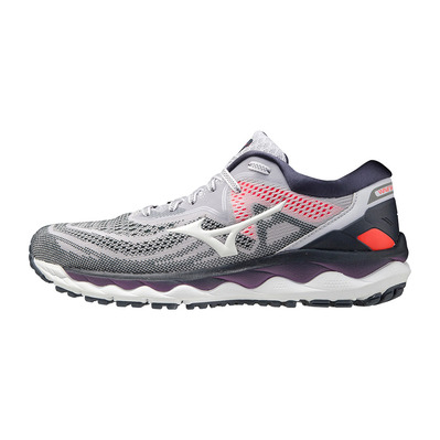 MIZUNO - WAVE SKY 4 - Running Shoes - Women's - lilac hint/platinum gold/india ink
