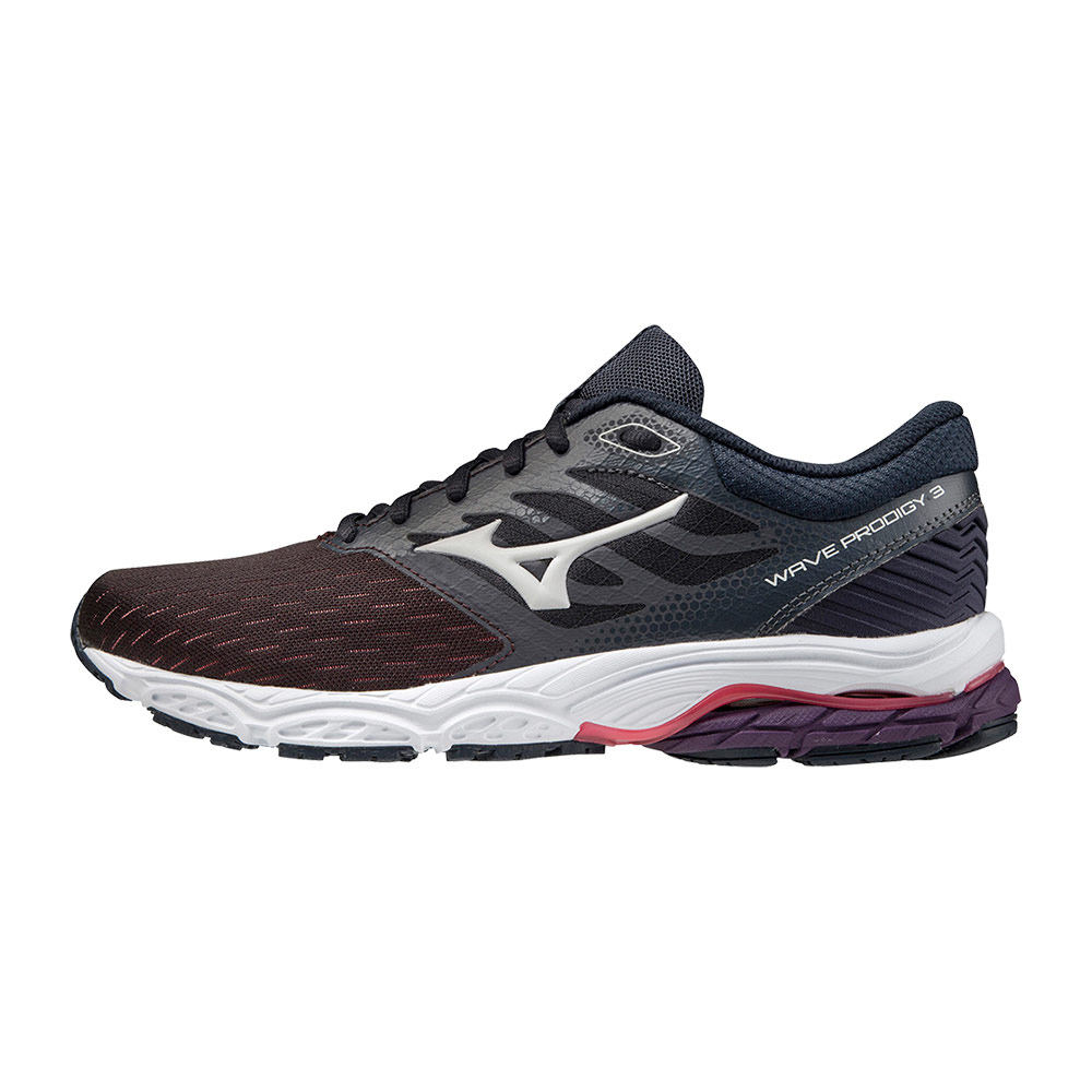 MIZUNO - Mizuno WAVE PRODIGY 3 - Laufschuhe - Frauen - magnet/snow white/india ink