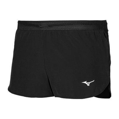 MIZUNO - AERO SPLIT 1.5 - Shorts - Men's - black/grey