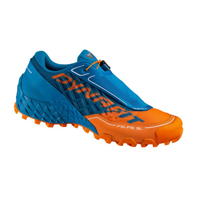 DYNAFIT - FELINE SL - Zapatillas de trail hombre shocking orange/methyl blue