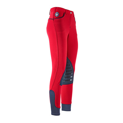 EASY RIDER - Euro-Star ABBY - Pantaloni con silicone Donna navy/chilly red