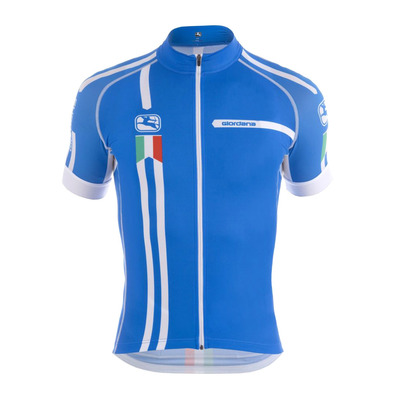 GIORDANA - SCATTO TRADE SQUADRA - Funktionsshirt - Männer - blue/italia