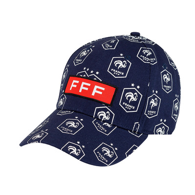 FFF - ALL OVER - Casquette navy
