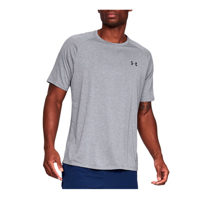 UNDER ARMOUR - UA Tech 2.0 SS Tee-GRY Homme GREY