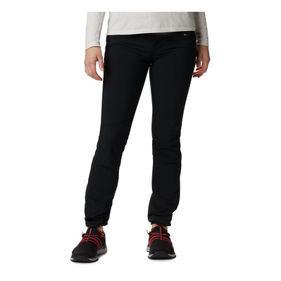 COLUMBIA - PEAK TO POINT - Pantalón mujer black
