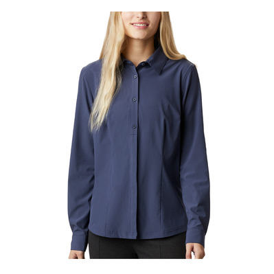 COLUMBIA - Saturday Trail™ Stretch LS Shirt Femme Nocturnal