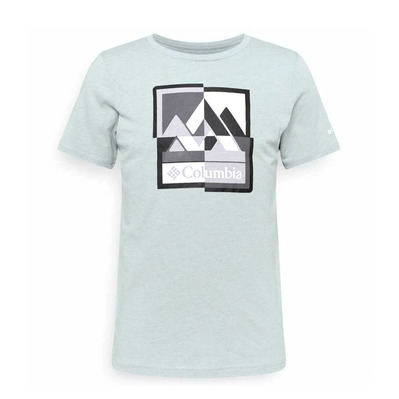 COLUMBIA - ALPINE WAY - Tee-shirt Homme columbia grey h