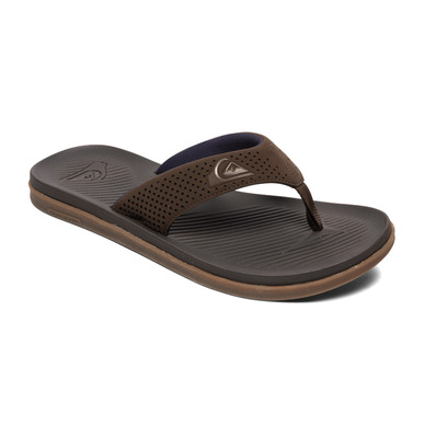 QUIKSILVER - HALEIWA PLUS - Infradito Uomo brown/brown/brown