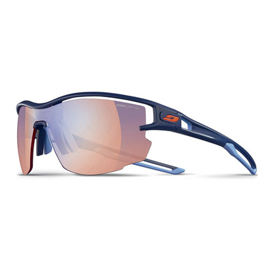JULBO - AERO - Lunettes de soleil photochromiques blue/blue/white/brown multilayer red