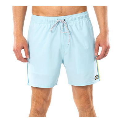 "RIP CURL - SURF REVIVAL VOLLEY 16"" - Boardshort Homme light blue"