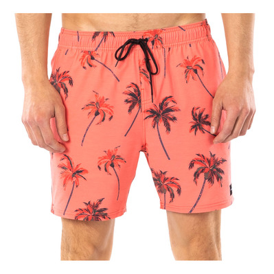 "RIP CURL - BEACH PARTY VOLLEY 16"" - Boardshort Homme red"
