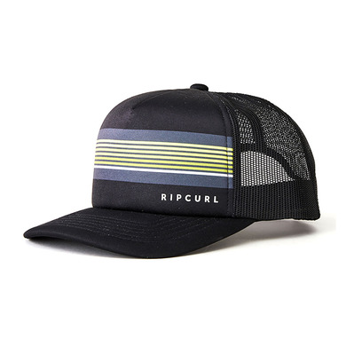 RIP CURL - ALL DAY TRUCKER - Casquette Homme black/lime