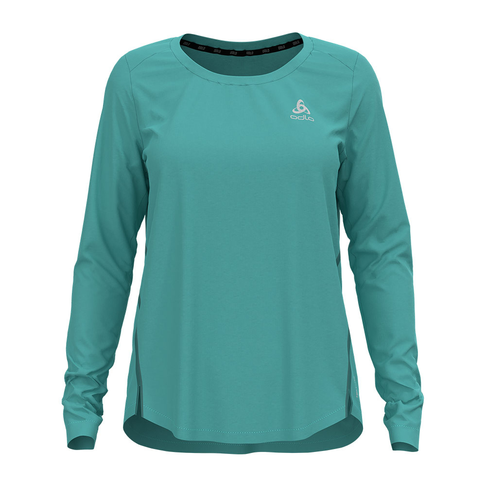 ODLO - T-shirt l/s crew neck ZEROWEIGHT CHILL-T Femme jaded