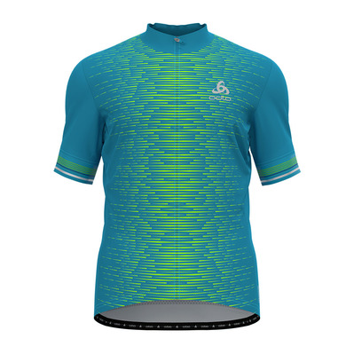 ODLO - ZEROWEIGHT CERAMICOOL PRO - Maillot Homme horizon blue/graphic ss21