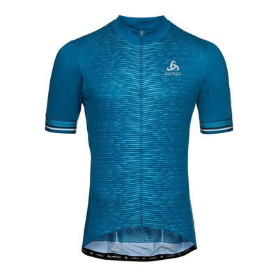 ODLO - ZEROWEIGHT CERAMICOOL PRO - Maillot Homme mykonos blue/graphic ss21
