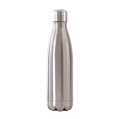 YOKO DESIGN - BRILLANT - Bouteille isotherme 500ml inox