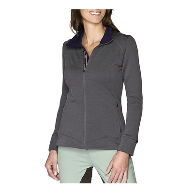 EQUIREX - MERINO WOOL - Polar mujer antracite