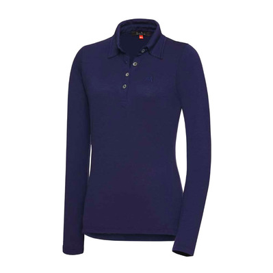 EQUIREX - MERINO - Polo mujer navy