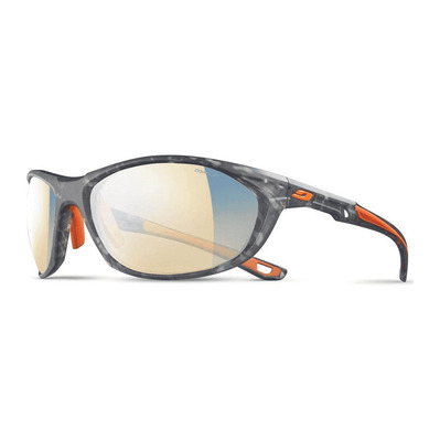 JULBO - RACE 2.0 - Sonnenbrille - photochrom - Männer - schildpattgrau/orange/zebra light blau