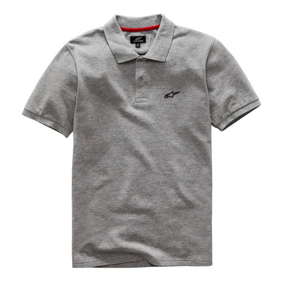 ALPINESTARS - EFFORTLESS - Polo Homme grey heather