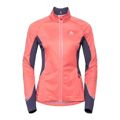 ODLO - ZEROWEIGHT PRO - Veste Femme faded rose/odyssey gray