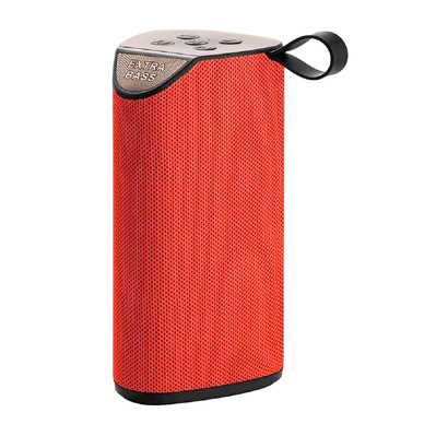DEALSTORE - GT111 EXTRA BASS - Altavoz Bluetooth red