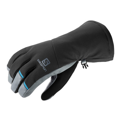 SALOMON - PROPELLER LONG - Gants Homme black/grey