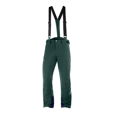 SALOMON - ICEGLORY - Pantalon ski Homme green gables