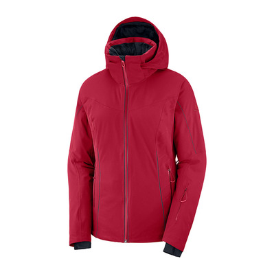 SALOMON - WHITENIGHT - Veste ski Femme rio red