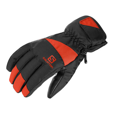 SALOMON - FORCE - Gants de ski Homme black/fiery red
