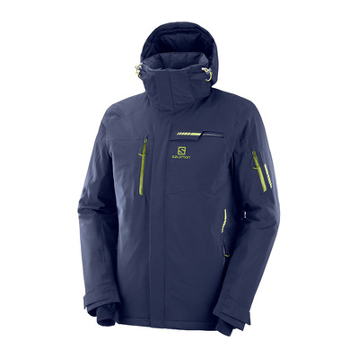 SALOMON - BRILLIANT - Veste ski Homme night sky