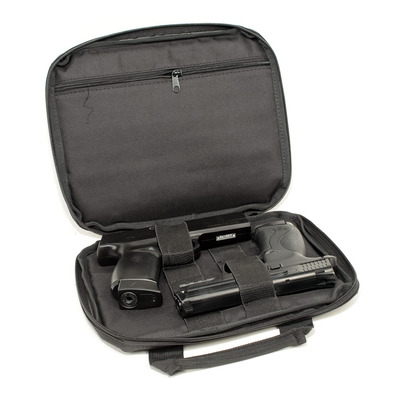 SWISS ARMS - 604055 - Funda de transporte 2 pistolas black