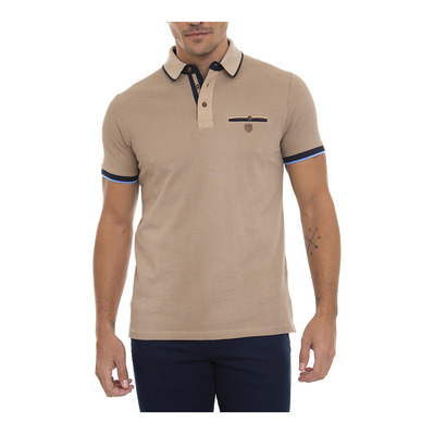 SIR RAYMOND TAILOR - GEAR - Polo Homme light brown