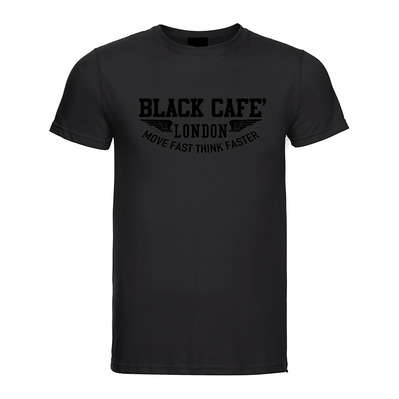 BLACK CAFÉ LONDON - Black Cafe London 7-PLO - Camiseta hombre black