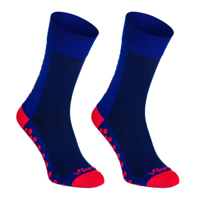 VIKING SPORT - RUN & BIKE DOT - Chaussettes blue