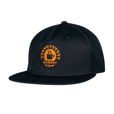 MAMMUT - MASSONE - Casquette black-dark cheddar