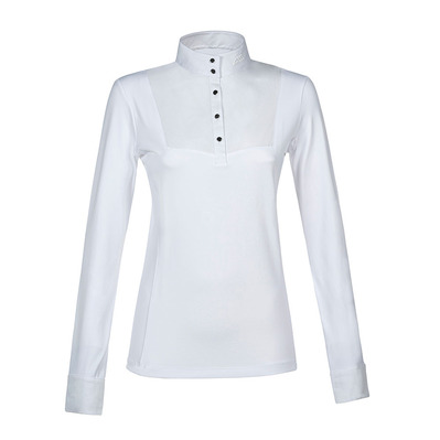 EQUILINE - EMILEYE - Polo de concours Femme white