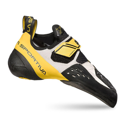 LA SPORTIVA - SOLUTION - Pies de gato hombre white/yellow