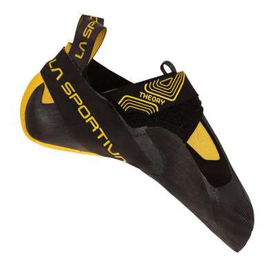LA SPORTIVA - THEORY - Pies de gato hombre black/yellow