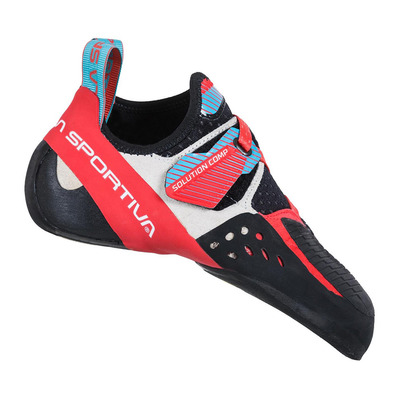 LA SPORTIVA - Solution Comp Woman Femme Hibiscus/Malibu Blue