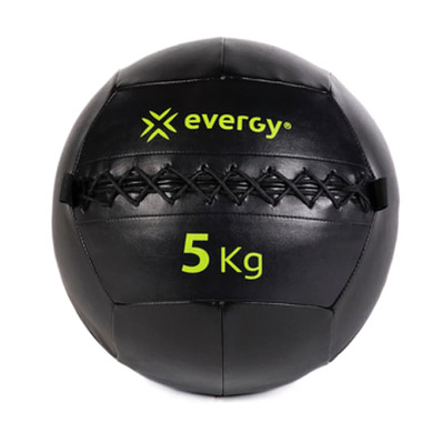 EVERGY - B010400N 5kg - Wall Ball - black/yellow