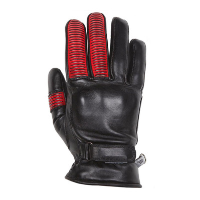 HELSTONS - STINGRAY HIVER - Handschuhe - Frauen - black/red