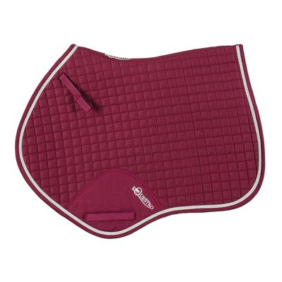 Equestro - SS00207 - GP Saddle Pad - burgundy