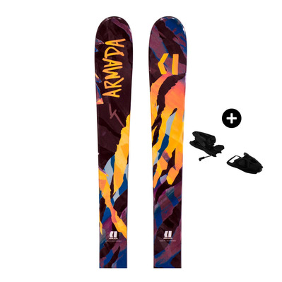 ARMADA - Pack Armada DEMO BANTAM - Freestyle Skis - Junior - multicolour