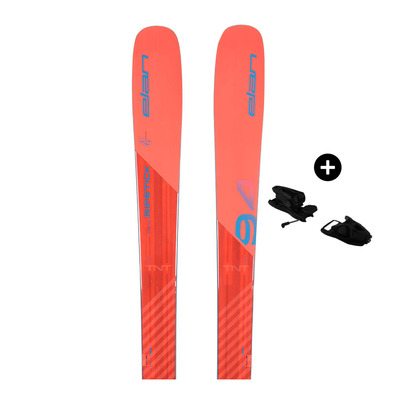 ELAN - Pack Elan RIPSTICK 94 W 17/18 - Freeride/All Mountain Skis - Women's