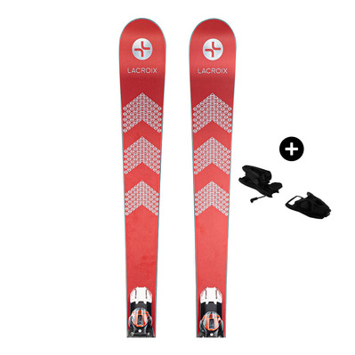 LACROIX - Pack LaCroix MACH 1 19/20 - Piste/Slalom Skis - Men's - red