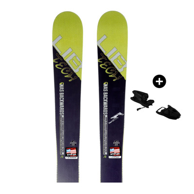 LIB TECH - Pack LibTech BACKWARDS - Freestyle Skis - Men's - white/blue/yellow