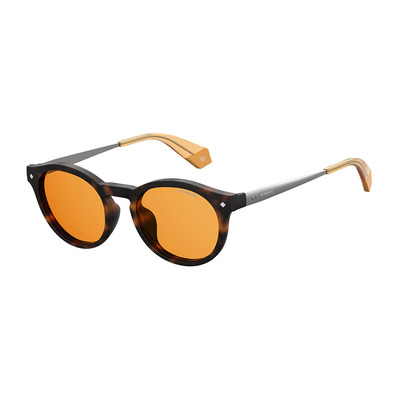 POLAROID - PLD 6081/G/CS - Polarised Sunglasses - havana/yellow
